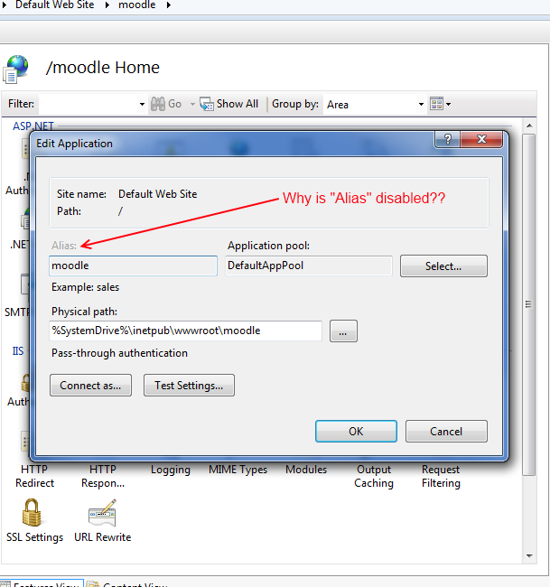 how to create virtual directory in iis 7